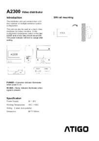 A2300 Instructions