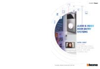 Bticino Audio & Video Door Entry Systems Catalogue