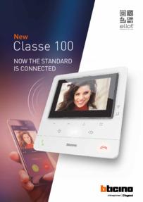 Bticino Classe 100 - Brochure