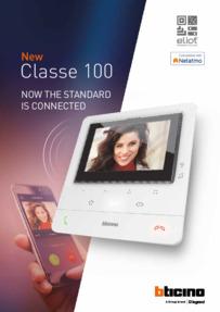 Bticino Classe 100 Catalogue