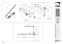 CAME G03755 Installation Guide
