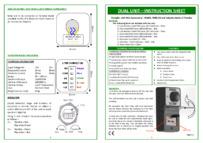 DU-NT/TF INSTRUCTIONS