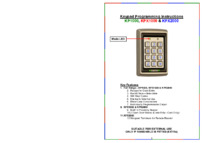 RGL KP1000 Programming guide