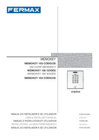 Fermax Memokey Installation Manual
