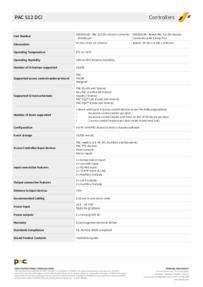 PAC 30155 Data Sheet