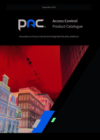 PAC Access Control Product Catalogue 2020