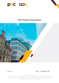PAC Catalogue