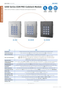 Videx 4903 datasheet