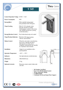 T345 Datasheet